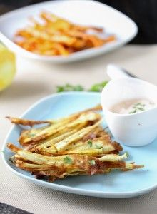 ... Parsnip Chips on Pinterest   Chips, Roasted parsnips and Parsnip fries