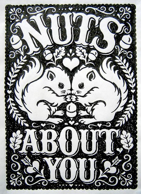 Nuts About You by Alexandra Snowdon, via Flickr