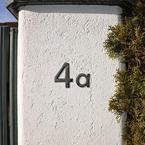 Gartendekoration - Handgerfertigte Hausnummer aus Limoges-Porzellan  - ein Designerstück von AmSeeKeramik bei DaWanda