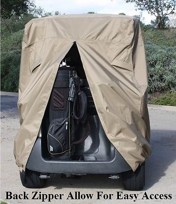 4 Passengers Golf Cart Cover (with 2 seater roof up to 58″) Fit EZ Go,Club Car – forklift parts and accessories