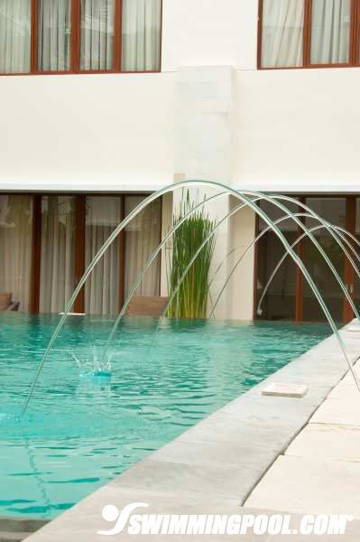 178 best water features images on pinterest pool - How far is 50 lengths of a swimming pool ...