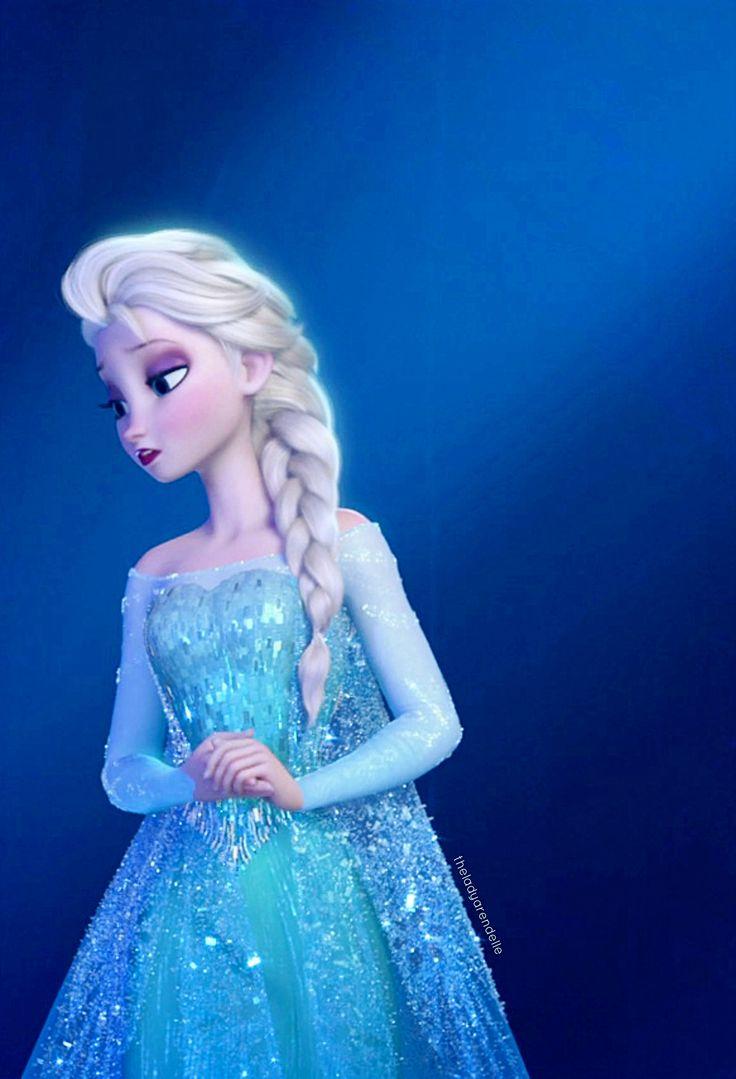 Queen Elsa of Arendelle ❄️ Her hair is so beautiful