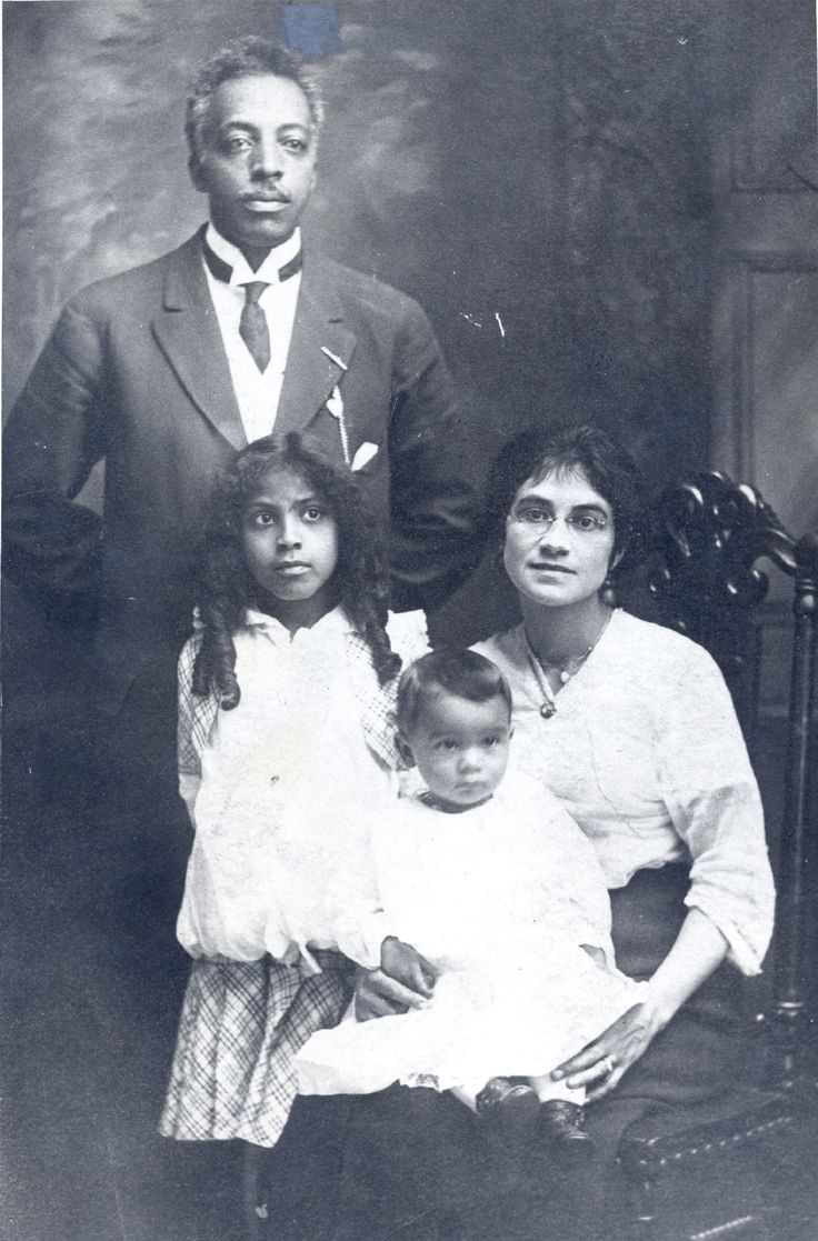 Joseph Douglass (Frederick Douglass' grandson), Fannie Douglass (sitting), Blanche Douglass and Frederick Douglass III - Copyright © 2014 by Frederick Douglass Family Initiatives.  All rights reserved.