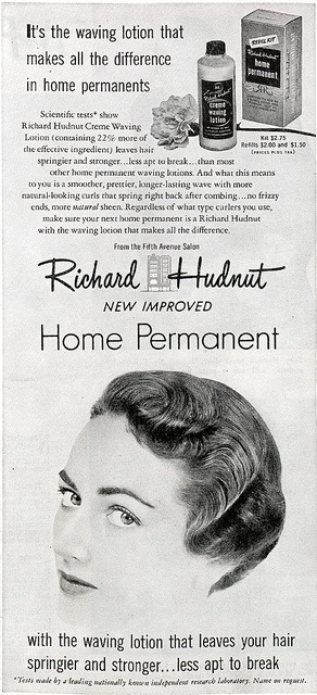 Richard Hudnut, home perm by Digital Collections at the University of Maryland, via Flickr