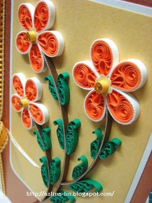 3D paper flower craft