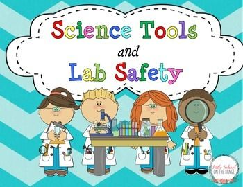 REVISED with new activities and foldables March 2015!!!This is a great unit for introducing or reviewing Science Tools as well as lab safety! This unit includes:Science Tools Fact Cards for the Following 16 Tools:oMagnifying Glass, Magnet, Microscope, Terrarium, Computer, Balance, Beaker, Weather Vane, Aquarium, Safety Goggles, Notebook, Thermometer, Rain Gauge, Stop Watch, Ruler, ScalePocket Pattern to Store Fact Cards in Science NotebooksScience Tools Match the tool to its…