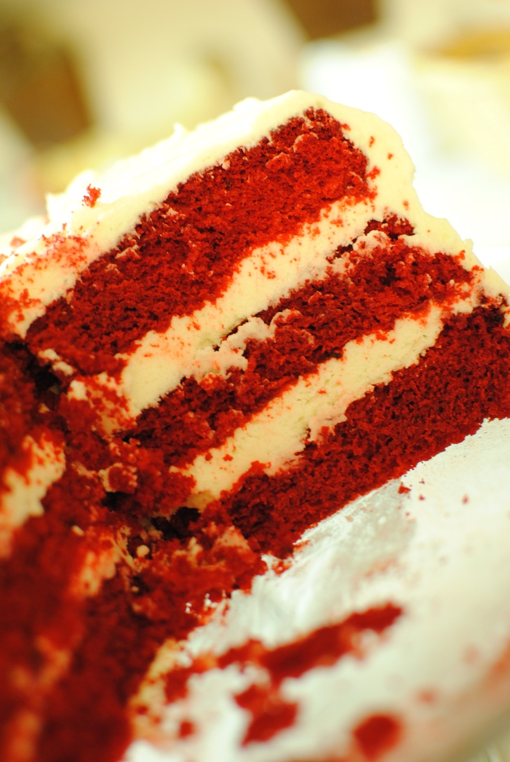 Red Velvet Cake.  Recipe by the Pioneer Woman; photograph by me :)