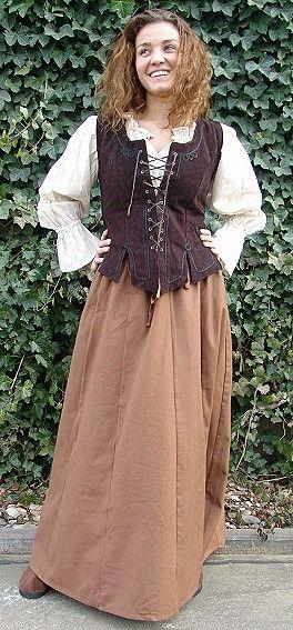 Medieval peasant skirt