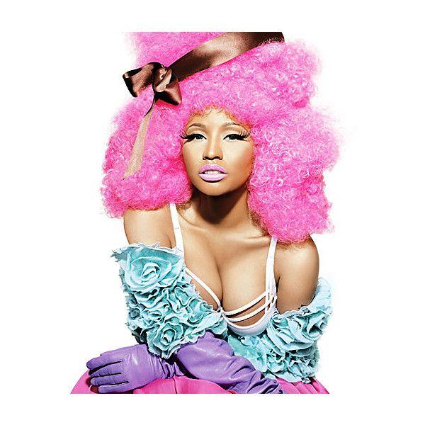 An image of Nicki Minaj ❤ liked on Polyvore featuring nicki minaj and people