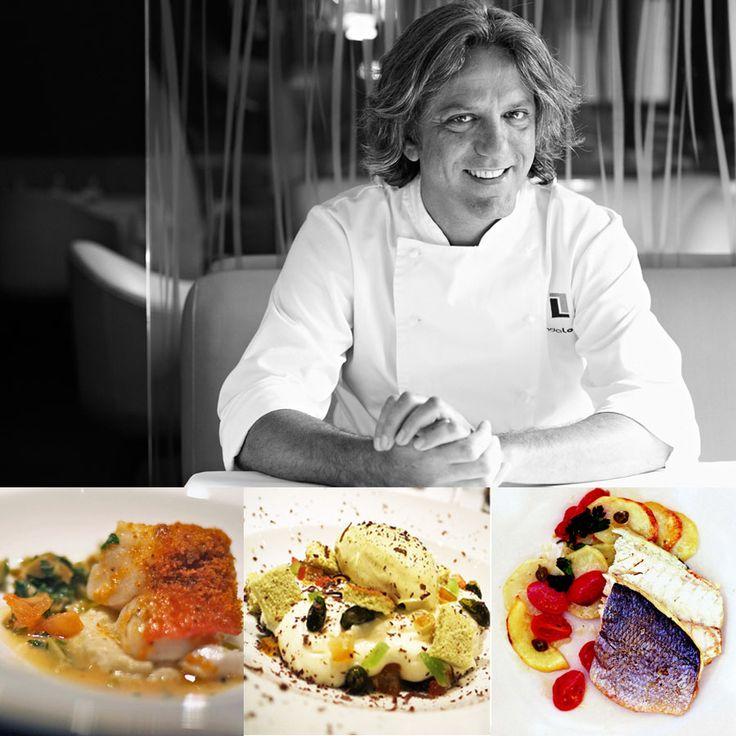2 star - Chef Giorgio Locatelli - Restaurant Locanda Locatelli - London, Italy #italianfood #italianchef #italianrestaurant www.100ITA.com