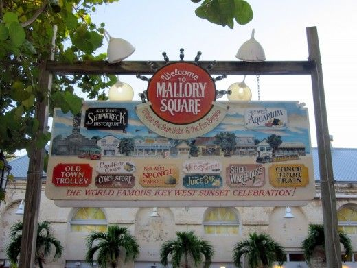 Mallory Square is home to Key West's nightly sunset festival - Because Key West is a 30-minute plane ride from The Bahamas, sharing this tip for vacationers and visitors.  Have fun!