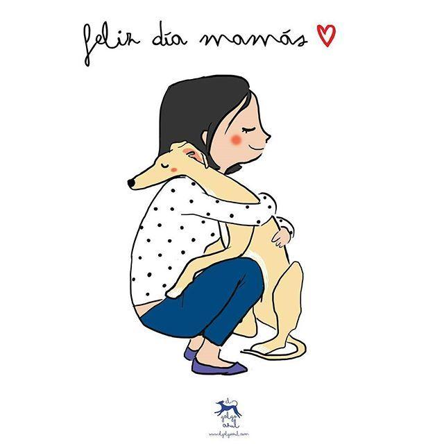 El día de la madre coincide con el primer aniversario de @Elgalgoazul acordándome de Iñaki y Lucas. Me pienso pasar todo el día abrazando a mis peludos ♡ Recordar que en la tienda online podéis disfrutar de un 20% de descuento con el código ANIVERSARIOAZUL1 (válido en compras superiores a 25 euros), ¡Último día! ¡Feliz día mamás perrunas! #mamaperruna #mama #diadelamadre #mimoamiperro