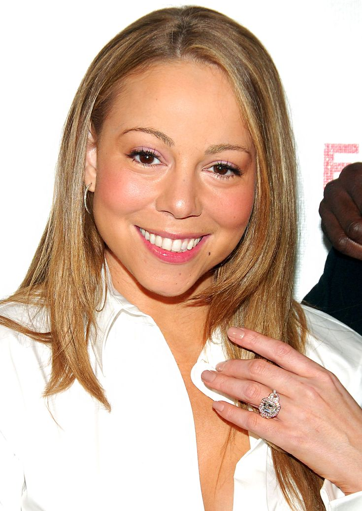 Best Celebrity Engagement Rings of All Time: Mariah Carey