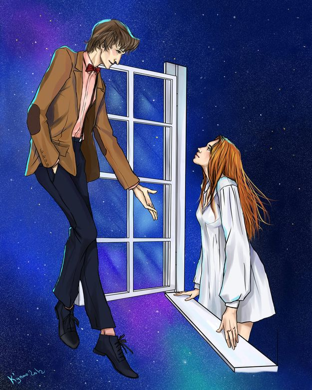 """11 Gorgeous, Poignant Pieces Of """"Doctor Who"""" Fan Art - BuzzFeed Mobile"""