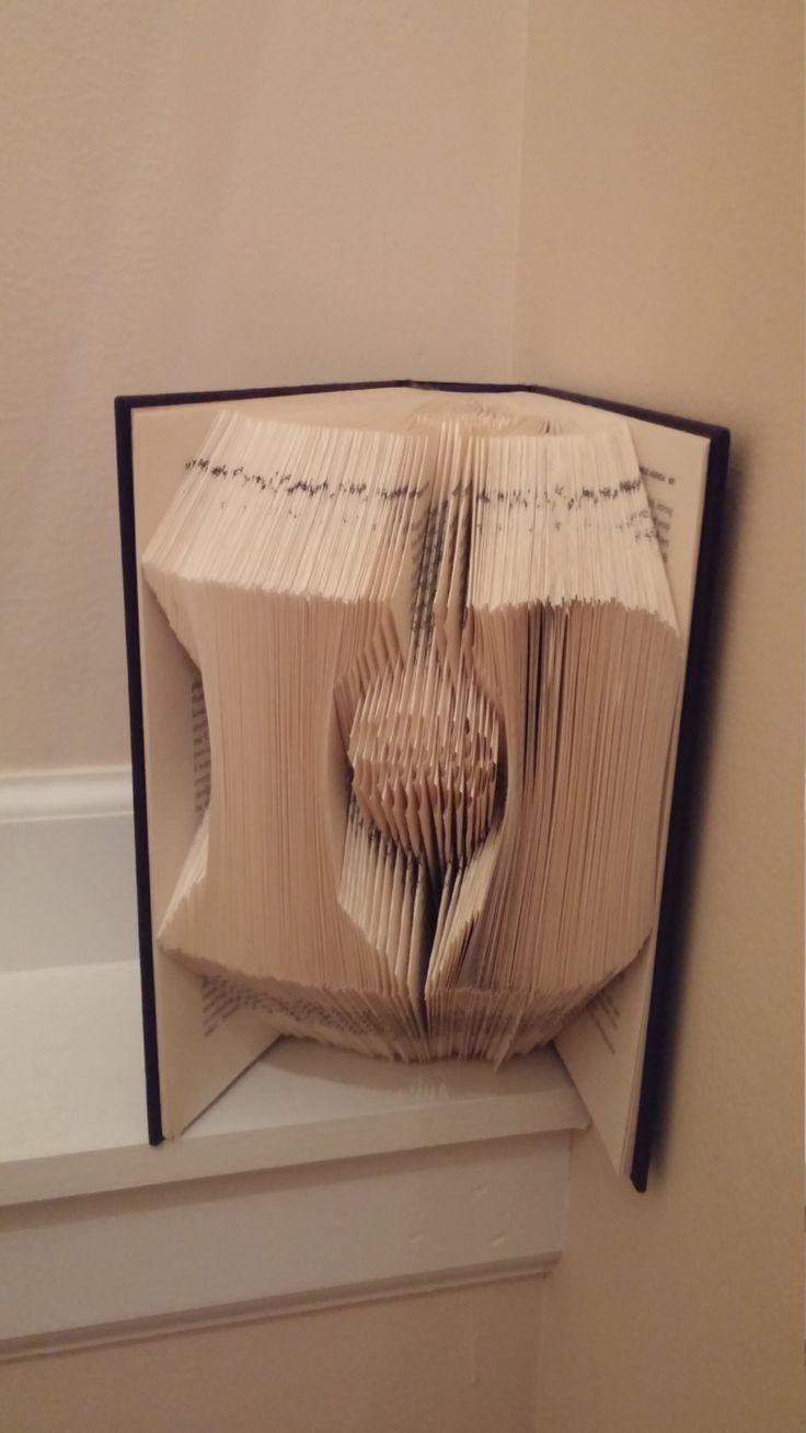 Duke Basketball Folded Bool by PaperHeartsGallery on Etsy