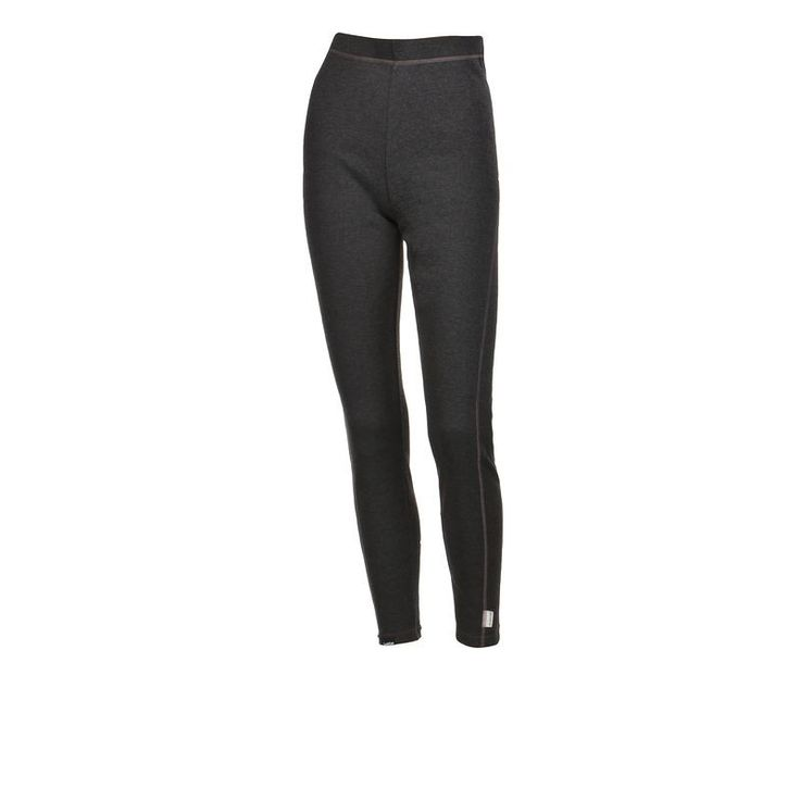 £4.99 - Base layers - Simple Warm Trousers Black - Women's Ski Base Layer - WED'ZE