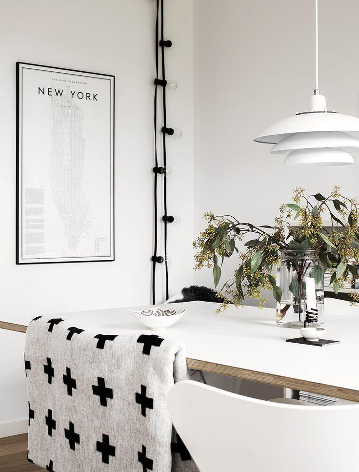 Scandinavian dining room. Studio Esinam, Pia Wallen, House Doctor