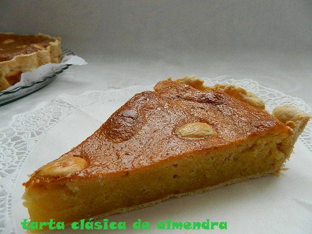 las recetas de mi abuela: TARTA CLÁSICA DE ALMENDRA