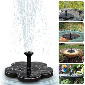SolarPumpe Solar Teichpumpe Fontäne Gartenteich Springbrunnen Wasserspiel Pumpe