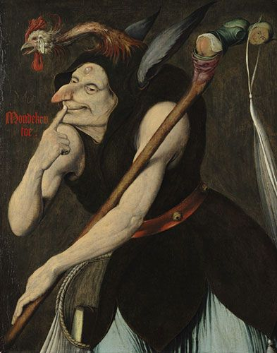 An Allegory of Folly by Quentin Massys