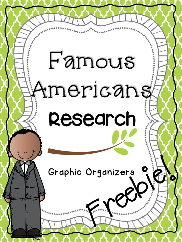 Famous Americans: Studying Biographies and Learning about Contributions