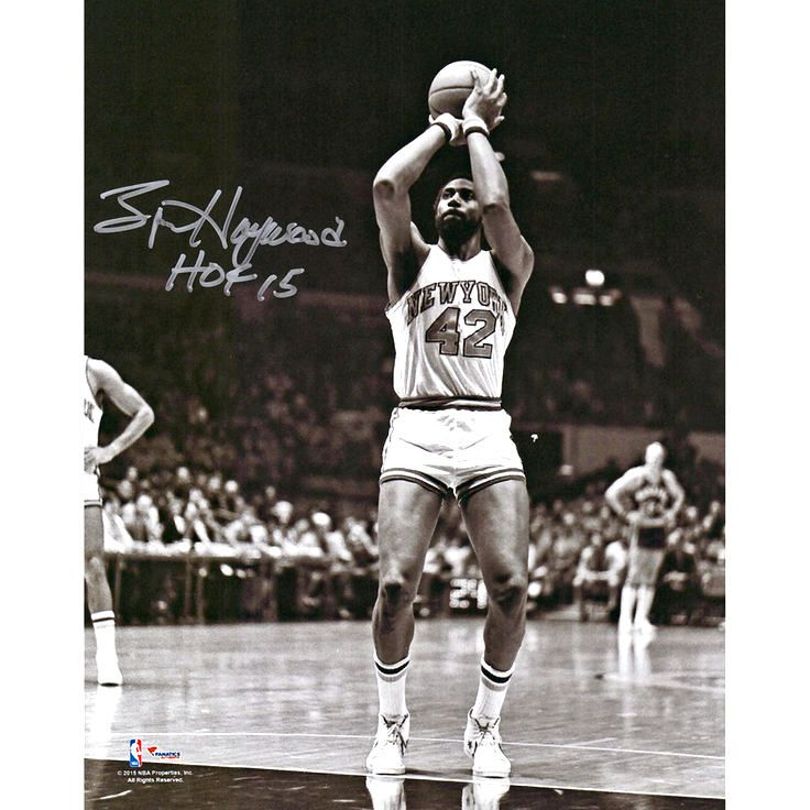 Spencer Haywood New York Knicks Fanatics Authentic Autographed 8'' x 10'' Shooting Photograph with HOF 15 Inscription - $37.99
