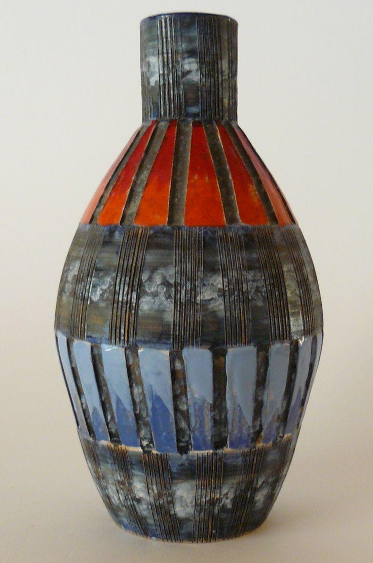 Vase - Fratelli Fanciullacci  Pottery IdeasItalian PotteryCeramic  PotteryVintage ...