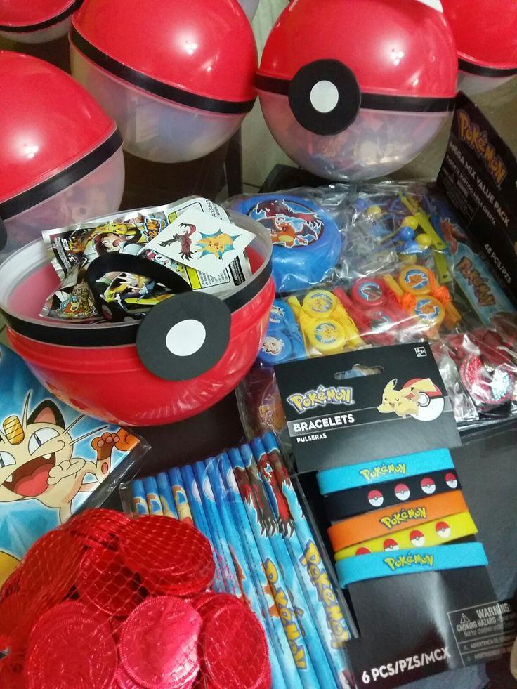 Party favors pokemon