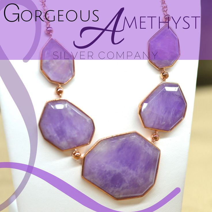 Gorgeous Amethyst pieces, available Exclusively at Silver Company stores in Eastgate Mall, Centurion Mall and Rosebank Mall.  <3 <3