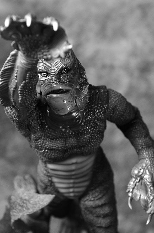 Creature from the Black Lagoon statue: