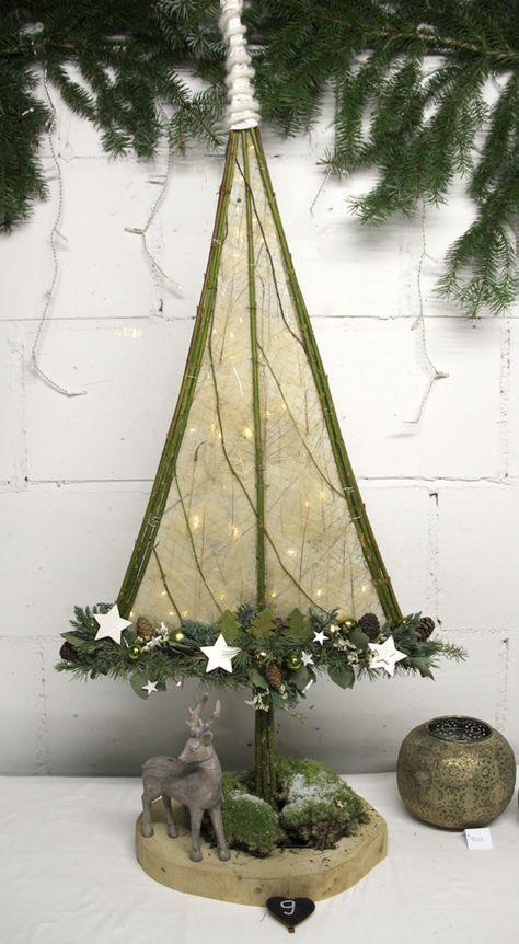 Bloemschikken Rosalie: Bloemschikken Advent & Kerst 2016 - 9. Kerstboom en 10. Witte papierbol