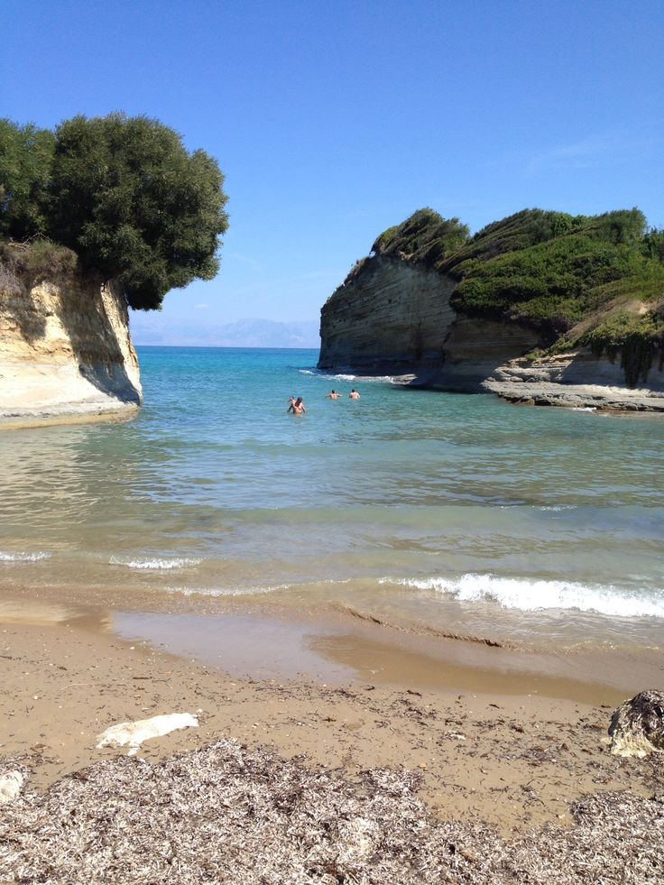 Sidari Beach in Corfu