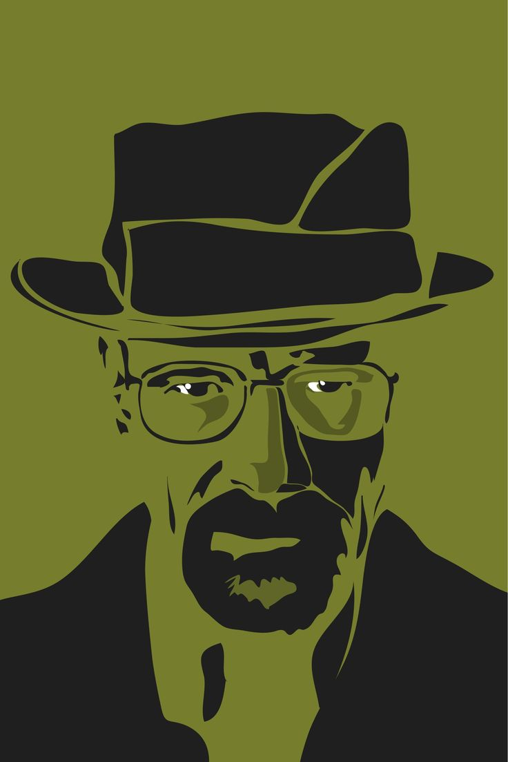 Walter white green apron - Walter White Breaking Bad Minimalist Poster Walter Walt White Breakingbad Amc