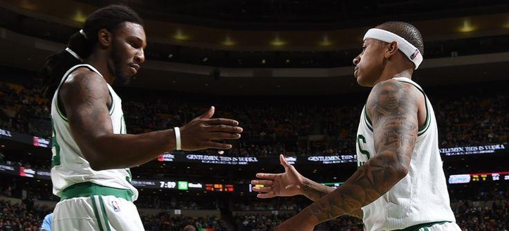 C je Příprava na závěrečný test jako play-off seedings Pend | Boston Celtics