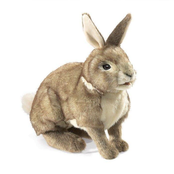 Folkmanis Puppet - Cottontail Rabbit Hand Puppet 2