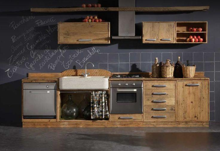 cucina legno grezzo - Cerca con Google