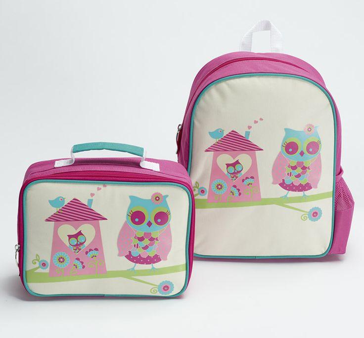 'Owl House' Backpack range. Includes backpack and lunchbox   #backtoschool #kinder