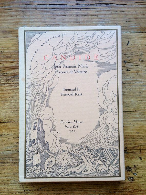 Voltaire's Candide limited edition book
