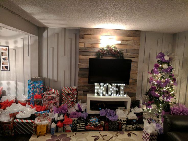 Cadeaux, ambiance festive de Noël
