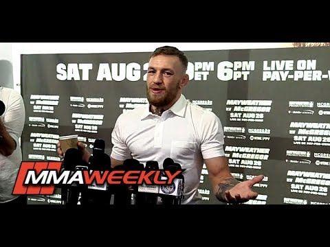 MMA Conor McGregor on Paulie Malignaggi Sparring: 'He Took a Lot of Head Trauma'