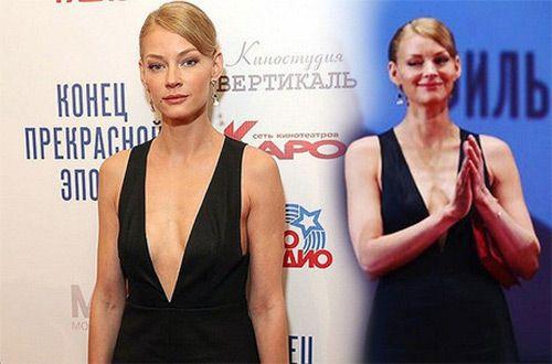 Грудь российской актрисы Светланы Ходченковой вызвала вопросы