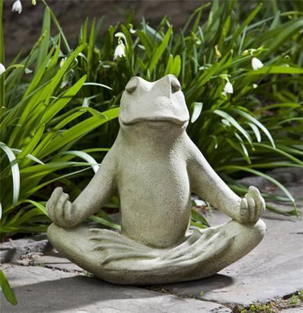 Totally Zen, Small Zen, Totally Zen Too, Frog Garden Statue