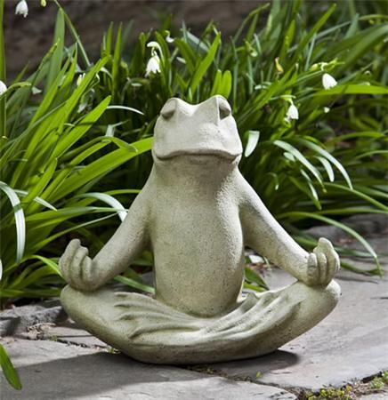 Totally Zen, Small Zen, Totally Zen Too, Frog Garden Statue