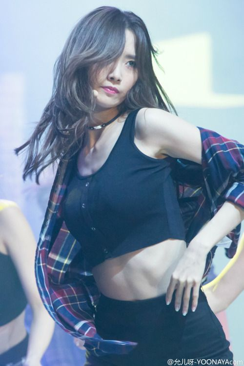 kpop Girls • im220-cm:   150831 Yoona - Tencent K-pop