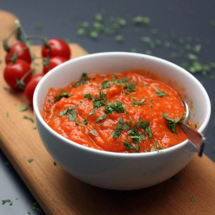 A Basic Cook -   Red Pepper Sauce