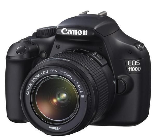 Canon Eos 1100d Ef S 18 55mm Dc Iii Lens