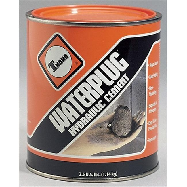 Basf Thoro Consumer Products 5 Gallon Waterplug Hydraulic Cement T1663 Cement Home Improvement Paint Supplies
