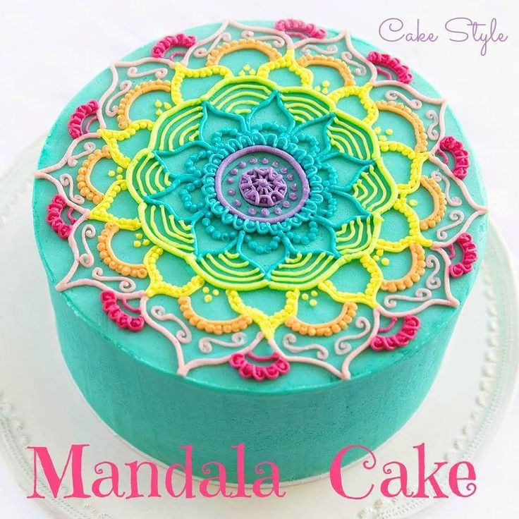 This fun Mandala inspired cake was made for a beautiful girl's 11th birthday party. She absolutely loved it, and if you do too, check out our YouTube video tutorial. There you can see exactly how it's made! https://youtu.be/cUuSL94f8jo To everyone who has tagged us in your version of this cake, thank you so much! Please keep the shares coming. You can post to our FB wall or tag us on Insta #cakestyle #cakedecorating #Youtube #cake #instacake #caketutorial #mandala #buttercream