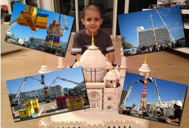 WATCH: Israelis Honors Child Cancer Victim With Guinness Record-Breaking Toy Brick Tower