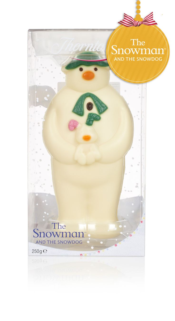 The Snowman and The Snowdog - #Chocolate Model